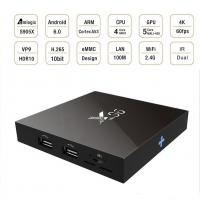 Wholesale Media Player X96 Android Mini PC USB, UHD Kodi Mini Android TV Box WiFi 2.4GHz from china suppliers