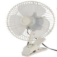 China Electric Rechargeable Portable Fan , 12v / 24v Electric Cooling Fans For Cars on sale