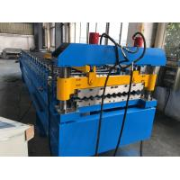 Wholesale 380V 50Hz 3 Phases Roof Panel Roll Forming Equipment Manual Decoiler 20GP Container from china suppliers