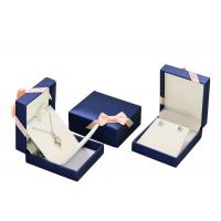 Wholesale Mens PU Leather Cardboard Jewelry Boxes Bulk Ring Gift Box With Removable Drawer from china suppliers