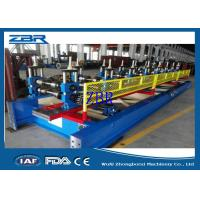 Wholesale 18 Rows Garage Door Metal Roll Forming Machines 8M - 12M / Min Production Capacity from china suppliers
