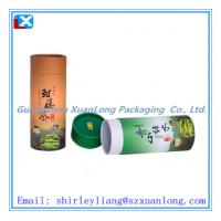 Wholesale high quality customized tea packaging tube from china suppliers