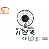 36V / 48V 500W Brushless Gearless Hub Motor Kit For Electric Bikes