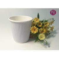 Wholesale 7oz  230ml Corrugated  Triple Wall Takeaway Coffee Cup With Lid from china suppliers