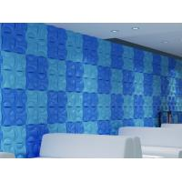 Wholesale Hotel Hallways Decorative Interior / Exterior 3D  Wall Panels for Entertainment Wall Decals from china suppliers