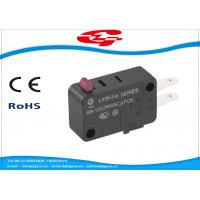 Wholesale SPDT 3 Terminals Electrical Rocker Switches , Mini Push Button Switch LXW-3 Series from china suppliers