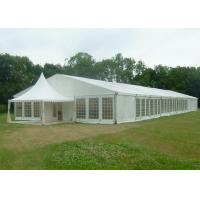 Wholesale 15 X 50 Canvas Wedding Party Tent Flame Retardant Hard Plastic ABS Wall from china suppliers