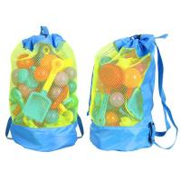 Wholesale Durable Monofin Backpack Toys Balls Storage Bags Thick Nylon Mesh Construction from china suppliers