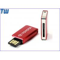 China Mini Full Metal Book Magazine 2GB USB Flash Disk Smooth Sliding on sale