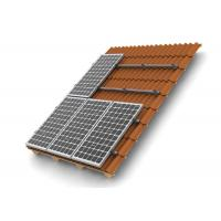 Wholesale HDG Solar Panel Roof Mounting Systems Customized Color Stainless Steel 304 Home Building from china suppliers