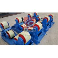 Buy cheap 5T Self Aligning Rotator with PU Rollers and Siemens Motor , Wireless type Remote Control Box from Wholesalers