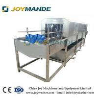 China Industrial Crate Washing Cleaning Machine Crate Washer With CE on sale