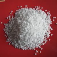 China Aluminum Oxide Grain Abrasive Sandblasting Media White Fused Alumina for sale