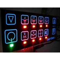 Wholesale Vandal Resistant Flat Keys Illuminated Backlighting Keyboards Led Membrane Switches from china suppliers