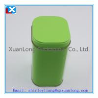 Wholesale metal tea square tin from china suppliers