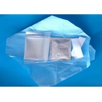 China Disposable Transparent PE Sterile Plastic Cover Medical Protective Equipment on sale