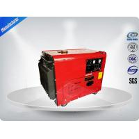 5.0 Kva Diesel Portable Generator Set Silent Type With Electric Starter for sale