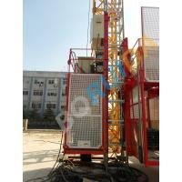 Wholesale Red / Blue Customized Industrial Elevators With Galvanized High efficiency from china suppliers