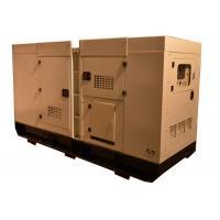 China 50HZ / 60HZ Cummins Silent Generator Set 100KVA CE certificate for sale