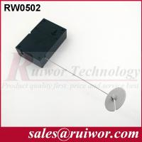 Wholesale Interactive Experience Retractable Security Tether With Adhesive ABS Plate from china suppliers
