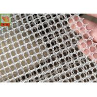 Wholesale SQUARE HOLE EXTRUDED PLASTIC NETTING, FILTER MATERIAL, 300GSM, 5MM HOLE SIZE, TRANSPARENT COLOR, 1M WIDE from china suppliers