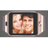 Wholesale 2015 competitive price wemelody Z09 smart watch with sim card from china suppliers