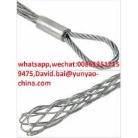 China Power Line Construction Accessories Temporary Mesh Sock Joints Cable Sleeve Connector on sale