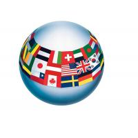 China PVC Custom Inflatable Full Printed Bouncy Beach Toy Balls For Kids on sale