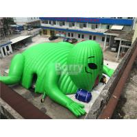 Wholesale Big Printed Outdoor Moster Advertising Inflatable Event Tent , Blow Up Dome Tent from china suppliers