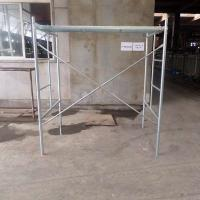 Galvanized Ladder Frame Scaffold