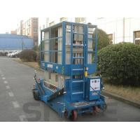 Wholesale Motor Driven Aluminum Work Platform 16m Multi Mast For One Man 160 kg Load Capacity from china suppliers