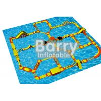 Wholesale Large Size Sea Inflatable Water Obstacle Course Construction EN71 Certification from china suppliers
