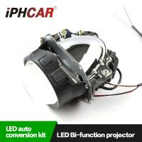 Wholesale IPHCAR 9-16V 35W High Low Beam Bi xenon Lens Led Headlight Conversion Kit Led Headlight Automotive Light from china suppliers