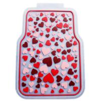 Wholesale Rubber Latex Pure Material Universal Car Mat With Pink Lovely Pattern from china suppliers