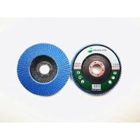 Wholesale Zirconia VSM Grain P80 Grit 125mm Blue Flap Disc Wheel from china suppliers