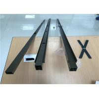 Quality Powder Coating Aluminum Profiles For Security Door Sliding Open Style for sale