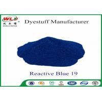 Wholesale High Stability Fabric Reactive Dyes Reactive Brill Blue KN-R C I Blue 19 from china suppliers