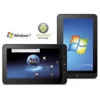 Wholesale 10 inch windows7 android2.2 dual system Intel Atom N455 capacitive multi-touch phone call tablet pc from china suppliers