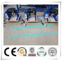 China 30kg 50kg 100kg Small Automatic Welding Positioner , Small Rotating Welding Turntable on sale