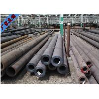 SCH40 Seamless Carbon Black Steel Tube , Round Steel Tubing Customized Service