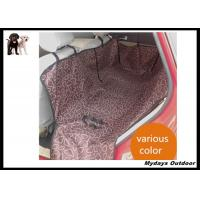 Buy cheap Durable Oxford Colorful Pet Car Seat Covers Seat Belt Holes 140×146×38 cm from wholesalers