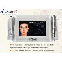 Wholesale Skin Care Permanent Makeup Equipment , Eyebrow Tattoo Pen Machine Intelligent Double Handpieces from china suppliers