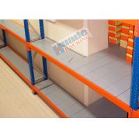 Buy cheap ISO Industrial Long Span Shelving Galvanized Steel Rack Low Consumption from Wholesalers