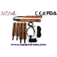 Wholesale 7piece PVC Leather Sex Bondage Restraint Handcuff Gag bdsm Bondage Whip Collar Erotic Toy from china suppliers