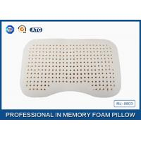 Buy cheap Sound Sleep Soft Washable Cover Latex Foam Rubber Pillow with Ventilated Holes from wholesalers