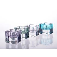 Wholesale Square Tealight Candle Holder Glass Replacement For Decoration from china suppliers