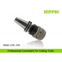 Wholesale High Accuracy Power Tool Holder 0.003mm Runout With Hook Spanner , SK40 Spindle Type from china suppliers