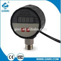 China Factory direct sale 304SS LCD display digital pressure gauge for sale