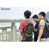 Wholesale Manpack RF Link Wireless Video Camera Transmitter And Receiver 5 Watt from china suppliers