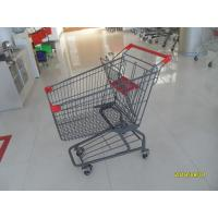 Buy cheap Custom Logo Grocery Shopping Trolley For Metallic Distribute Store 125L from wholesalers